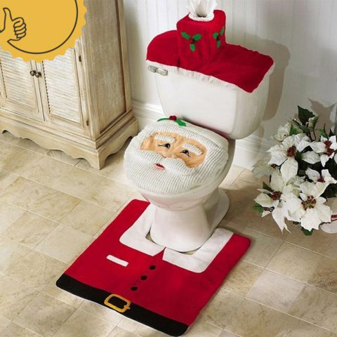 Decoración de Navidad para Baños