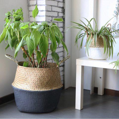 Cesta de Almacenamiento Ecológica Hecha de Bambú