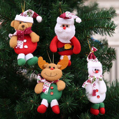 Adornos Colgantes Para Árbol de Navidad