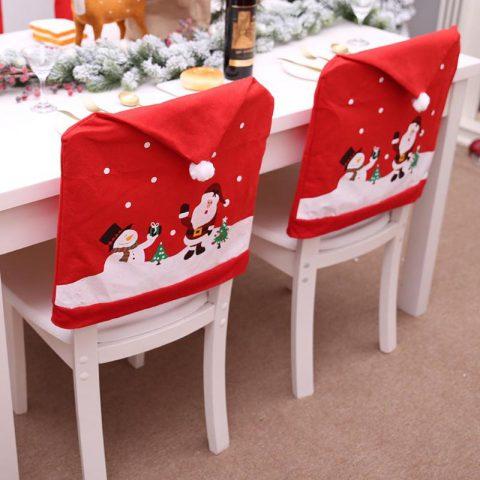 Cubiertas para Sillas en Navidad