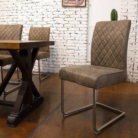 Silla Vintage Industrial de Diseño para Comedor (2 Unidades)