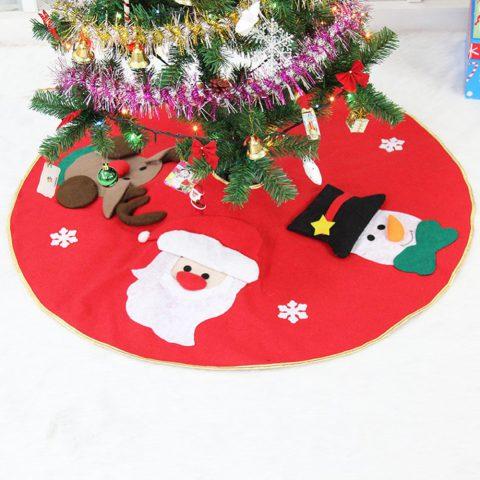 Manta Decorativa Para Árbol de Navidad