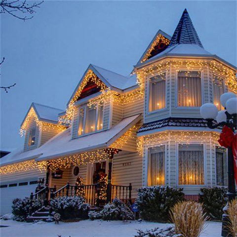Luces LED de Navidad Estilo Cortina 5m