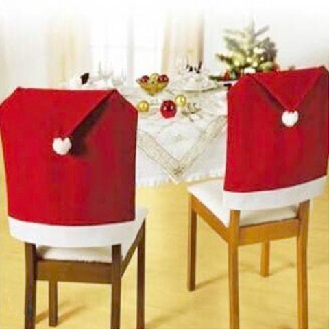 Decoracion de Navidad para Sillas de Casa