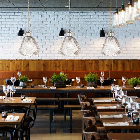Lampara Moderna Estilo Minimalista para Cafeterias